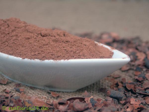 Kakaoschalen gemahlen