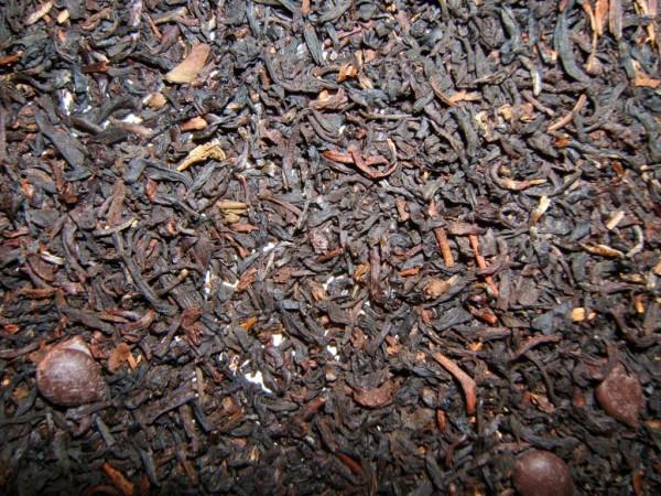 Schwarzer Tee RUM-SAHNE