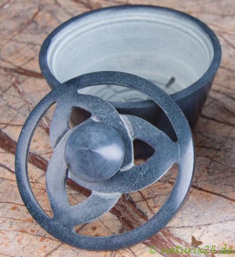 Keltischer Knoten Specksteingefäß