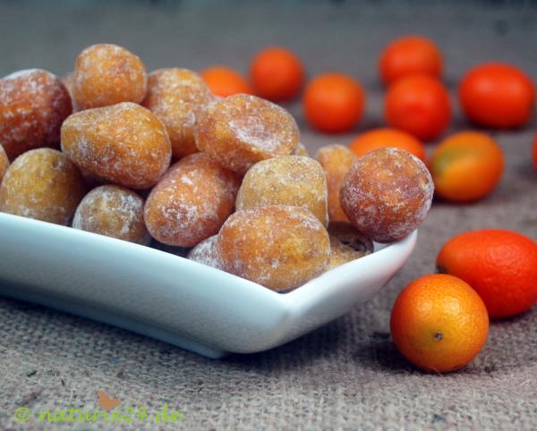 Kumquats ganz, gezuckert