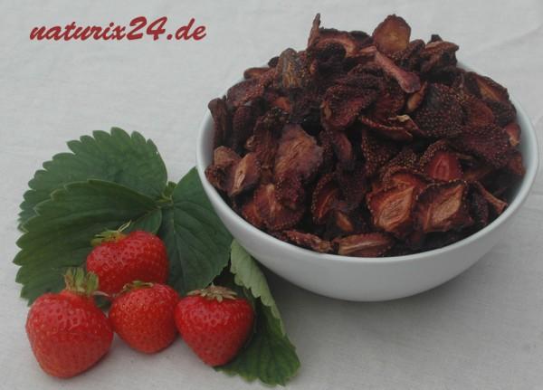 Erdbeeren getrocknet unbehandelt