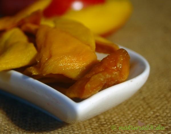 Mangoscheiben ohne Zucker