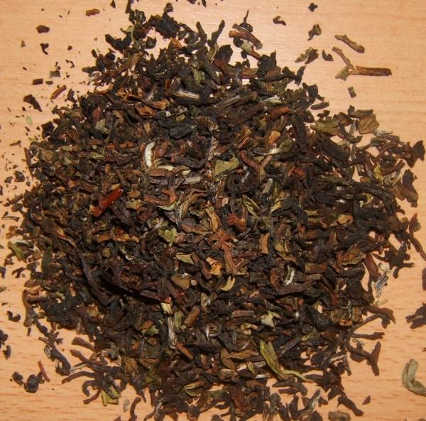 Schwarzer Tee Darjeeling Jungpana upper FTGFOP1