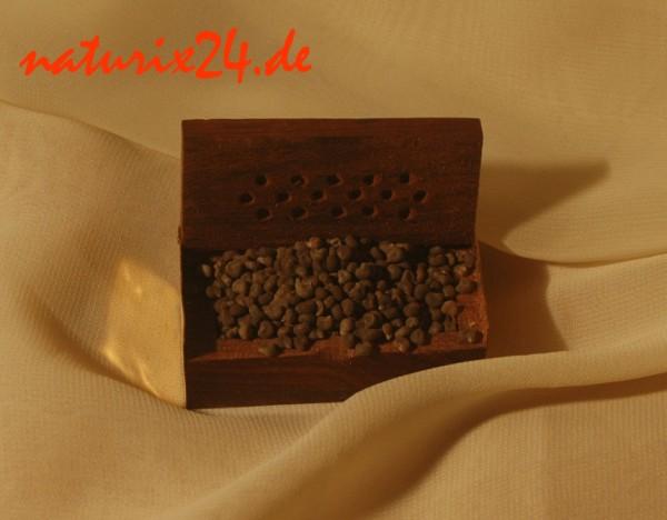 Duftdose Holz 6 cm