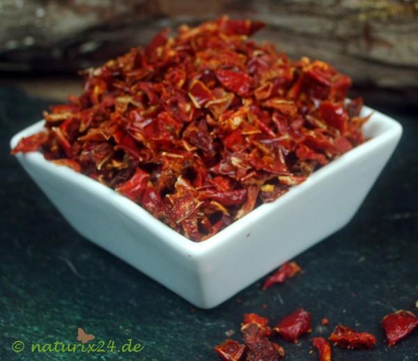 Paprikaflocken rot