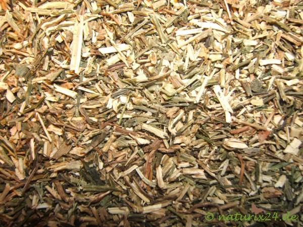 Chirettakraut grün geschnitten
