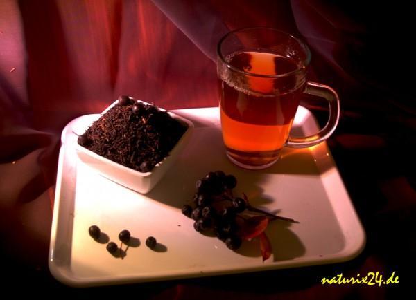 Schwarzer Tee Aronia