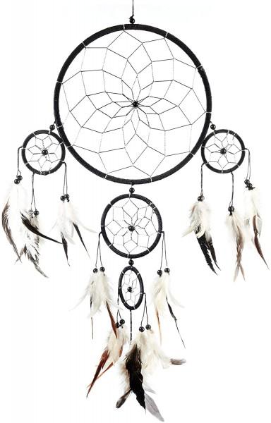 Traditioneller Traumfänger mit Federn