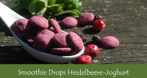 Früchtedrops Heidelbeer-Joghurt