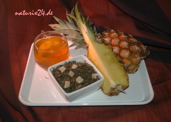 Grüner Tee Ananas