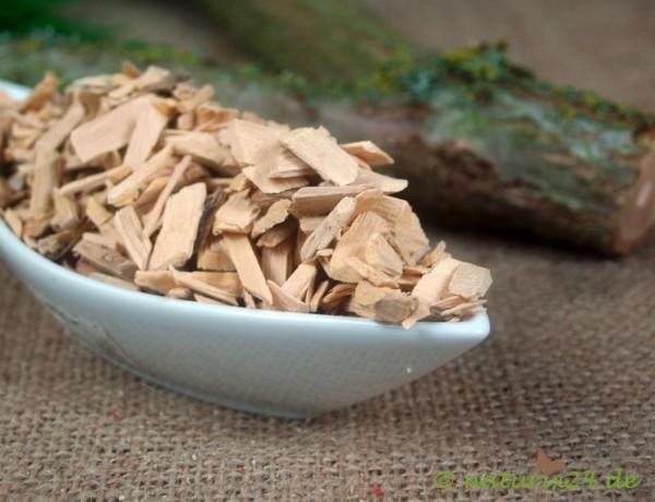 Holunderholz geschnitten