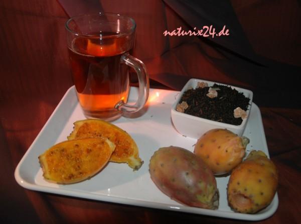 Schwarzer Tee KAKTUSFEIGE