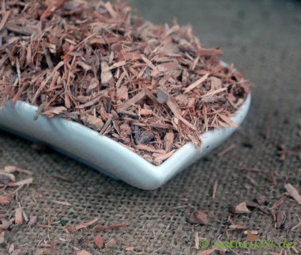 Jambulbaumrinde geschnitten