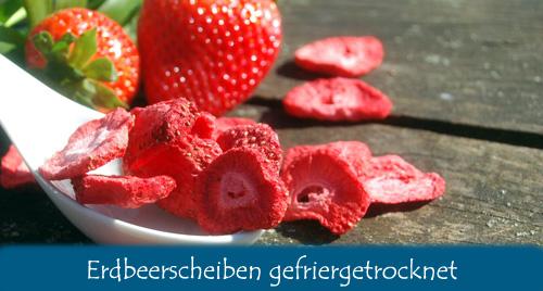 Erdbeerenscheiben