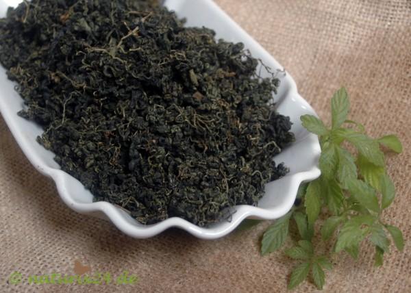 Jiaogulantee, Jiaogulanblätter geschnitten