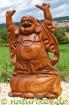 Happy Buddha aus Soar-Holz 40 cm