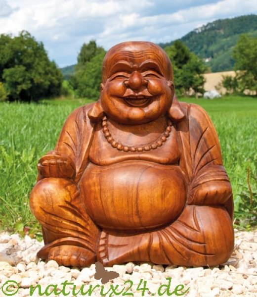 happy buddha aus soar holz 30 cm figuren r uchern und esoterik naturix24 produkte der natur. Black Bedroom Furniture Sets. Home Design Ideas