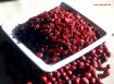 Cranberries, Kranichbeeren mit Ananassaft gesüßt