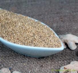 Ingwerwurzel fein geschnitten 0,5-1,5 mm