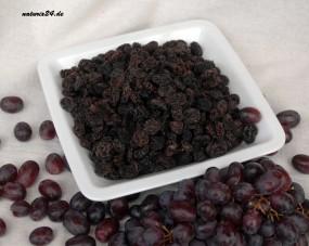 Weinbeeren dunkel getrocknet