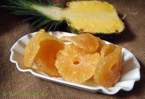 Ananasringe gezuckert