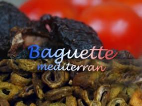 Mediterranes Baguette
