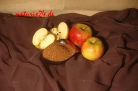 Apfel fein geschnitten
