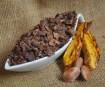Kakaoschalen geschnitten