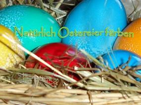 Natürliches Färben von Ostereiern